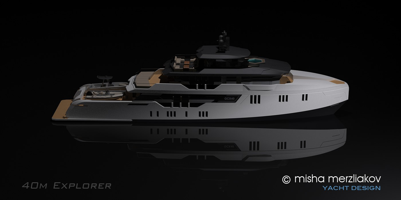 GCX40 Evolution Yachts profile